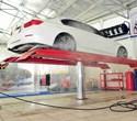 Cầu nâng rửa xe ô tô 1 trụ