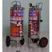 Máy rửa xe phun bọt tuyết Proly 702 chất liệu inox 304 dung tích 24 lít