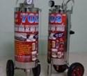 Thùng phun bọt tuyết Proly 702 loại đứng chất liệu inox 304, dung tích 35 lít