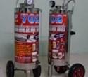 Thùng phun bọt tuyết Proly 702 loại đứng chất liệu inox 304, dung tích 45 lít