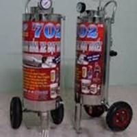 Thùng phun bọt tuyết Proly 702 nằm ngang chất liệu inox 304, dung tích 24 lít
