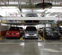 Bãi xe 2 tầng trong tầng hầm