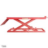 Cầu nâng xe máy, bàn nâng xe máy T200