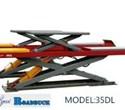 Cầu nâng gầm ô tô cắt kéo 3D 35DL