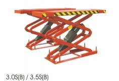 Cầu nâng ô tô kiểu xếp TITAN 3.5S
