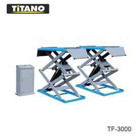 Cầu nâng ô tô kiểu xếp 3 tấn, bàn nâng nhỏ TF3000