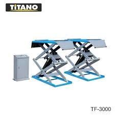 Cầu nâng ô tô kiểu xếp 3.5 tấn, bàn rộng TG3500