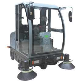 Xe quét rác ngồi lái Clepro CWR 205