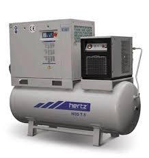 Máy nén khí trục vít Hertz (2.2kW-15kW) hinh anh 1