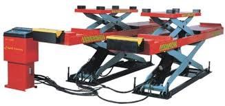 Cầu nâng cắt kéo có kích phụ YZJ-3500 hinh anh 1
