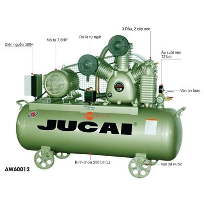 Máy nén khí Jucai AW60012 hinh anh 1