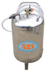 Thùng phun bọt tuyết rửa xe dung tích 70 lít Izi-70 hinh anh 1