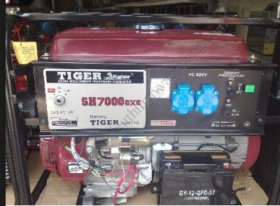 Máy phát điện Tiger SH7000DX hinh anh 1