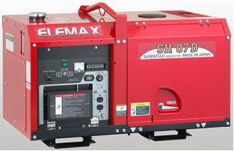 Máy phát điện Elemax SH 11D hinh anh 1