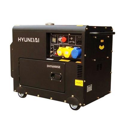 Máy phát điện Diesel Hyundai DHY 6000SE hinh anh 1