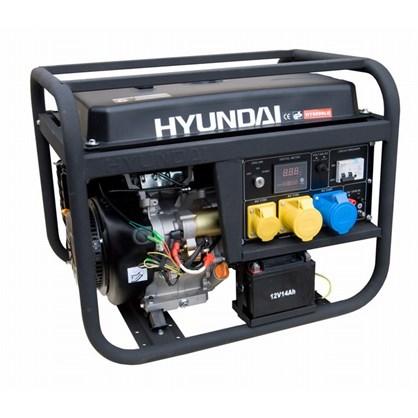 Máy phát điện Hyundai HY 6000LE hinh anh 1