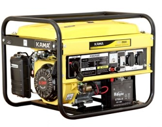 Máy phát điện KAMA KGE 4000E hinh anh 1