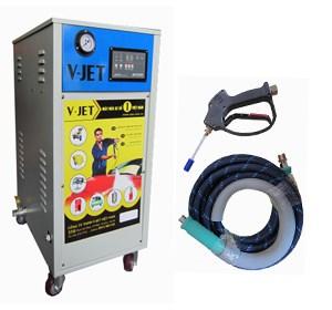 Máy phun rửa áp lực cao nước lạnh dùng điện HP110 hinh anh 1