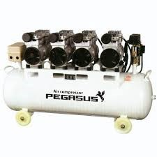 Máy nén khí giảm âm PEGASUS TM-OF550-90L hinh anh 1