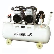 Máy nén khí không dầu, giảm âm Pegasus TM-OF550-70L hinh anh 1
