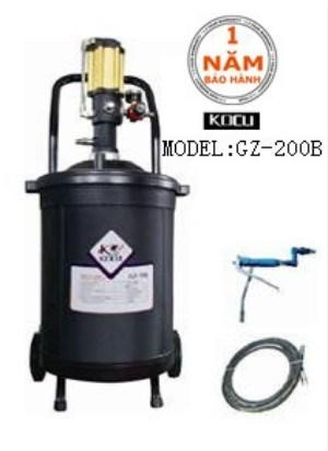 Máy bơm mỡ dùng khí nén GZ-200B hinh anh 1