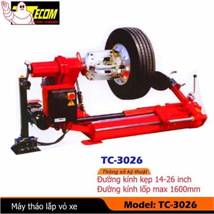 Máy ra vào lốp tự động xe tải TC-3026 hinh anh 1