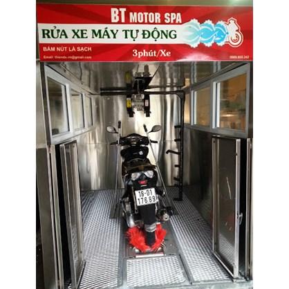 Hệ thống rửa xe máy tự động hinh anh 1