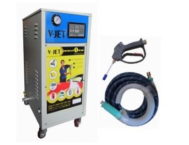 Máy rửa xe hơi nước nóng V-JET STEAMMER 18E hinh anh 1