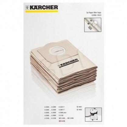 Bộ túi lọc 5 chiếc bằng giấy cho máy A2204,A2254,SE4001,WD3 hinh anh 1