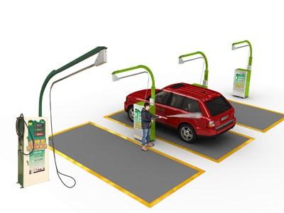 Máy rửa xe ô tô tự động 3In1 hinh anh 1
