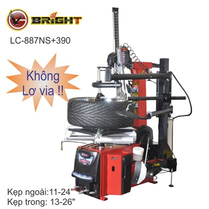 Máy ra vào lốp tự động (không lơ via) Bright LC-887NS+390 hinh anh 1