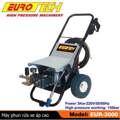 Máy phun rửa xe ô tô áp lực cao Eurotech EUR-3000 hinh anh 1