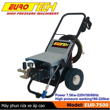 Máy phun rửa xe áp lực cao Eurotech EUR-7500 hinh anh 1