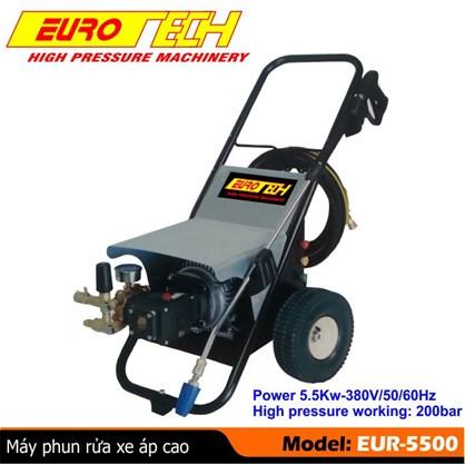 Máy xịt rửa xe ô tô áp lực cao Eurotech EUR-5500 hinh anh 1