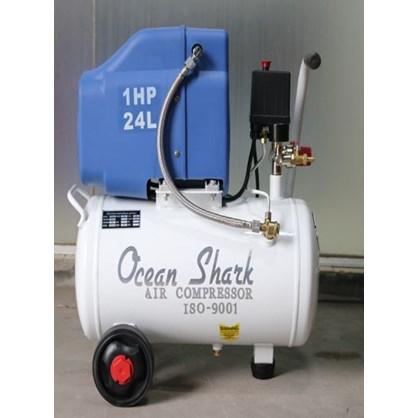 Máy nén khí không dầu 1 HP Ocean Shark OF886-24L hinh anh 1