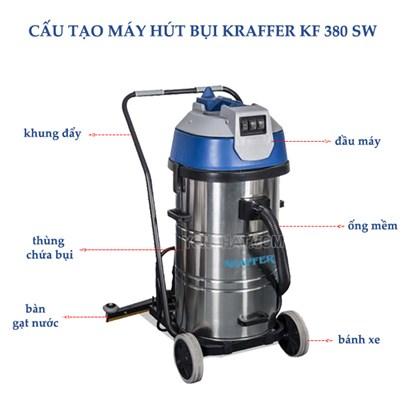 Máy hút bụi công nghiệp KRAFFER KF 380 SW hinh anh 1