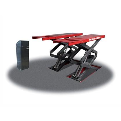 Cầu nâng cắt kéo nâng bụng kiểu lắp âm Werther STARTOS S39 hinh anh 1