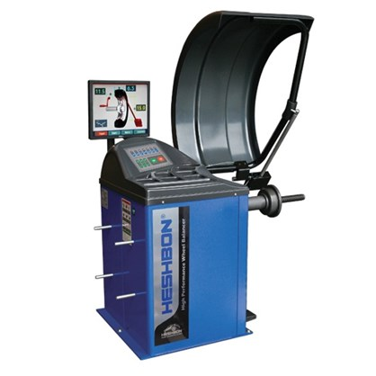 Máy cân bằng lốp xe Heshbon HW-125 hinh anh 1