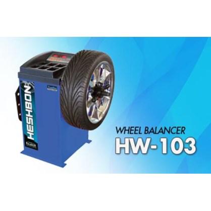 Máy cân bằng lốp xe Heshbon HW 103 hinh anh 1