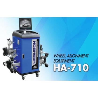 Máy kiểm tra góc đặt bánh xe công nghệ CCD Heshbon HA-710 hinh anh 1