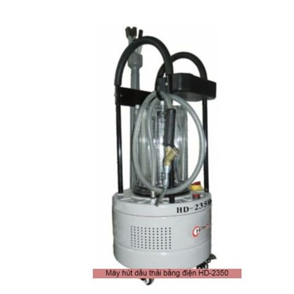 Máy hút nhớt thải bằng điện di động HPMM HD-2350 hinh anh 1