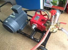 Máy rửa xe dây đai áp lực cao 5HP hinh anh 1