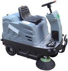 Xe quét rác ngồi lái Clepro CWR 201 hinh anh 1