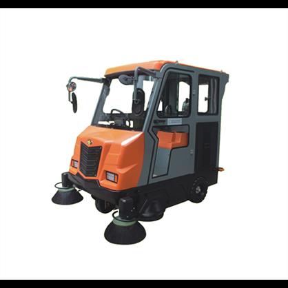 Xe quét rác ngồi lái Clepro CWR 207 hinh anh 1
