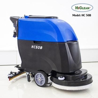 Máy chà sàn liên hợp HiClean dùng bình ắc quy HC50B hinh anh 1