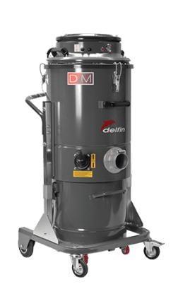 Máy hút bụi công nghiệp công suất lớn Delfin DM3EL hinh anh 1