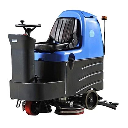 Máy chà sàn liên hợp công nghiệp ngồi lái Clean Maid TT 110BT hinh anh 1